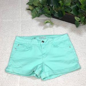 Celebrity PinkJeans Mini Cuffed Trim Women's Short